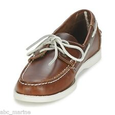Sebago Docksides Brown Oiled Waxy Deck/Casual Shoes **IDEAL GIFT**