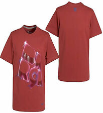 NIKE FC BARCELONA SOCCER CORE TYPE T-SHIRT Storm Red/Dark Grey Heather