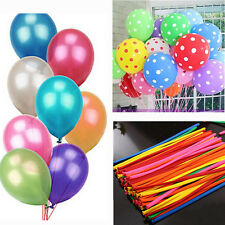 Ballons Mix Colors Latex Helium Wedding Party Birthday Decoration Christmas New