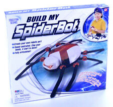 Build your own spider robot childrens child construction kit set toy electronic
