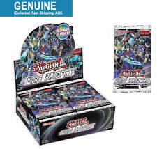 1-24 Booster Packs Wing Raiders Yugioh Card | Sealed Box Konami English