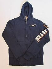 NEW MEN'S HOLLISTER HOODIE SWEATSHIRT, NAVY, PICK A SIZE, ABERCROMBIE & FITCH
