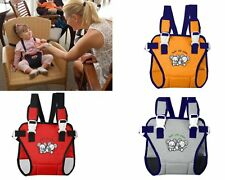 Baby Toddler Travel Chair Seat Harness Portable Highchair