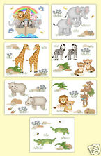 Noahs Ark Nursery Wall Art Prints Baby Boy Girl Safari Jungle Zoo Animal Decor