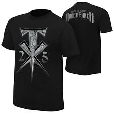 "WWE THE UNDERTAKER ""25 YEARS OF UNDERTAKER"" OFFICIAL YOUTH T-SHIRT NEW ALL SIZES"