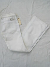 NWT WOMENS DIESEL RYOTH FLARE JEANS $550 WHITE