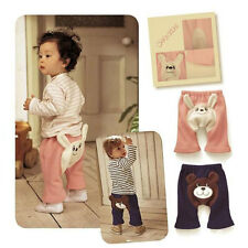 Cute Baby Boy girl Toddler Leggings PP Pants Leg Warmers Trousers Polar Fleece