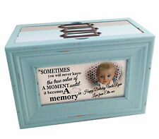 Personalised photo memory box or photo album storage, Happy birthday Uncle gift
