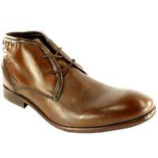 Mens H By Hudson Cruise Leather Lace Up Shoes Smart Ankle Boots New All Sizes