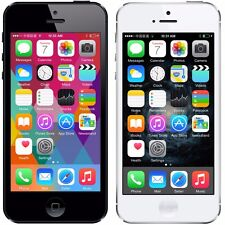 Original Apple iPhone 5 Factory Unlocked 16GB Smartphone AT&T White/Black