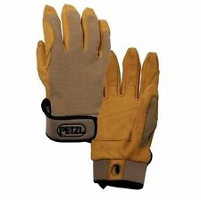 Petzl Cordex Light Weight Goat Skin Leather Durable Belay & Rappel Gloves Tan