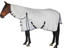 CARIBU X-Long Gusset Paddock Ripstop Neck Combo Horse Rug, For Broad Horses