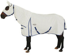 CARIBU X-LONG Gusset Cotton Ripstop Attached Hood Horse Rug, For Broad Horses
