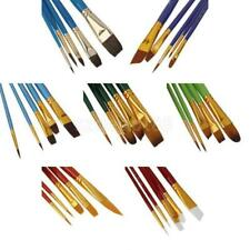 SET of 5pcs Artists Paint Brushes For Watercolour & Acrylic Painting Craft Hobby