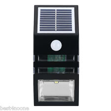 Super Bright Outdoor Solar Powered Motion Activated LED Security Emergency Light