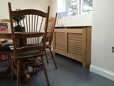 Radiator Covers Oak Veneer Choice of Sizes and finish Made to Order