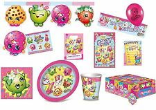 Shopkins Birthday Party Tableware Napkins Plates Cups Tablecover Decorations