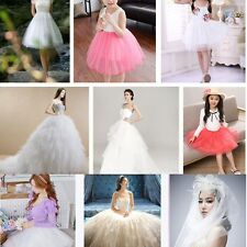 "New 6""x 25yd Tulle Roll Spool Tutu Wedding Party Gift Fabric Craft Decorations u"