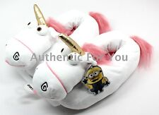 Universal Studios Youth Size Despicable Me Fluffy Unicorn Slippers Kids S-XL