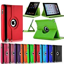 360 Leather Rotating Smart Magnetic Stand Case Cover For iPad Mini 2 3 4 Air US