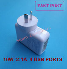 4 USB Ports Wall Charger AC Adapter For Samsung Galaxy S6 S5 S4 S3 Note 5 4 3 2