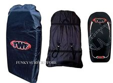 """TWF 42"""" DOUBLE BODYBOARD CARRY BAG BOOGIE BOARD BEACH BACK PACK PADDED STRAPS"""
