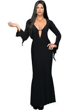 MORTICIA ADDAMS FAMILY SEXY ADULT WOMENS LICENSED FANCY DRESS HALLOWEEN COSTUME