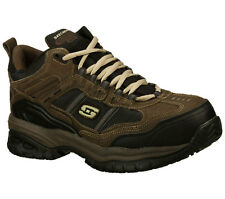 Skechers Men's 77027 Canopy Composite Toe Safety Work Shoes Wide Width-Special