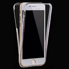 Full Covered Shockproof Clear Silicone Case Skin for Apple iPhone 6 4.7'&6s Plus