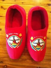 Dutch Clog Slippers / Hollandse slippers RED TULIP  & FREE GIFT HUGE WINTER SALE