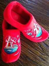 Dutch Clog Slippers / Hollandse slippers  RED WIND MILL & FREE GIFT #WINTER SALE