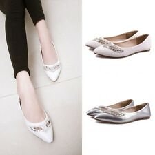 Womens Comfort Casual Walking Work Flats Shoes Loafers Moccasins Oxfords CX39