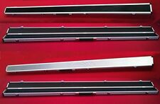 "ROSETTA 60"" ALUMINIUM SNOOKER POOL DOUBLE CUE CASE FOR 1 PIECE CUES,TAKES 2 CUES"