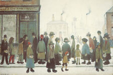 Waiting For The Shops To Open Giclee Print by Lowry, Laurence Stephen