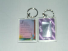 PERSONALISED KEYRING GIRLS NAMES BEGINNING WITH (N) INCLUDES THE MEANING OF NAME
