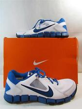 NIKE SHOES FLEX SHOW TR 2 MENS TRAINING SHOES WHITE/BLUE SIZE 10 NEW