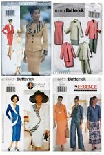 Butterick 3630,4401,6003,6073 Misses Dress Sewing Pattern Size 6-24 UC