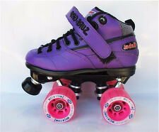 New Suregrip Rebel Derby Junior Purple Skates Sure Grip