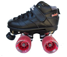 New Suregrip Rebel Derby Junior Black Skates Sure Grip