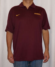NWT Nike Minnesota Golden Gophers Mens Dri-Fit 1/4 Zip Polo Shirt $65