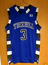 One Tree Hill Lucas Scott #3 Ravens Blue Basketball Jersey S, M, L, XL, 2XL