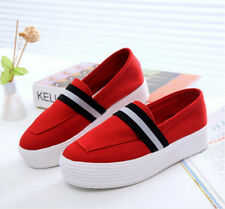 Fashion women's Sneakers Flats breathable canvas sport casual Oxfords shoes CZ13