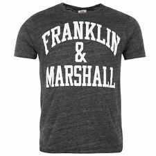 Franklin and Marshall Arch Logo T Shirt Mens