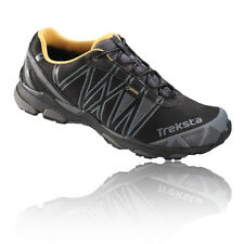 Treksta Sync II Mens Black Gore Tex Trail Running Gym Sports Shoes Trainers