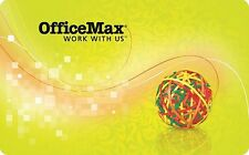 Office Max Gift Card - $25 $50 $100 - Email delivery