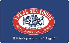 Legal Sea Foods Gift Card - $25 $50 $100 - Email delivery