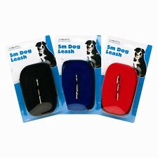 Dog Lead Leash Training Long Line Recall Walking Obedience Hunting 5m up-to-20kg