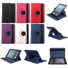 360 Rotating Swivel PU Leather Stand Smart Case Cover For Apple iPad Mini 2/3