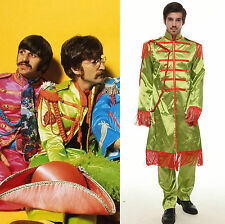 The Beatles Sgt. Pepper's Lonely Hearts Club Band John Lennon Costume (S-XL) NEW