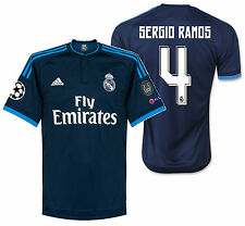 ADIDAS SERGIO RAMOS REAL MADRID UEFA CHAMPIONS LEAGUE THIRD JERSEY 2015/16